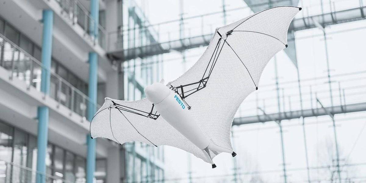 Meet Festo's semi-autonomous Bionic Flying Fox with a wingspan of more than 7 feet 000f