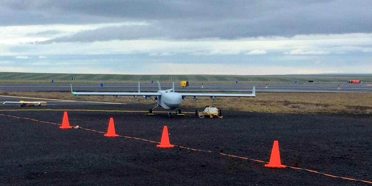 Small fire at Pendleton drone test range in Eastern Oregon