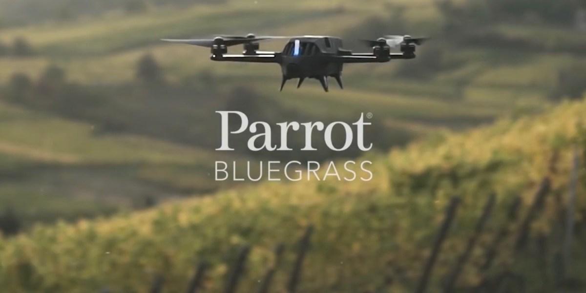 Press Release: Parrot unveils Parrot Bluegrass at the Commercial UAV Expo!