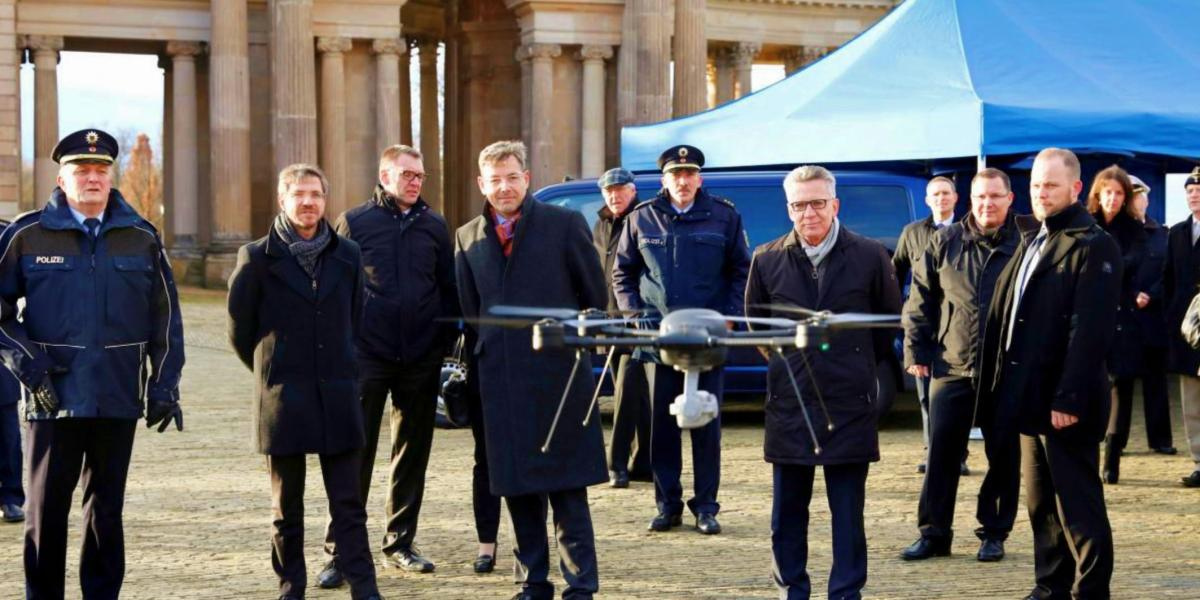 Fewer drone incidents than expected in Germany in 2017 given the popularity of the devices