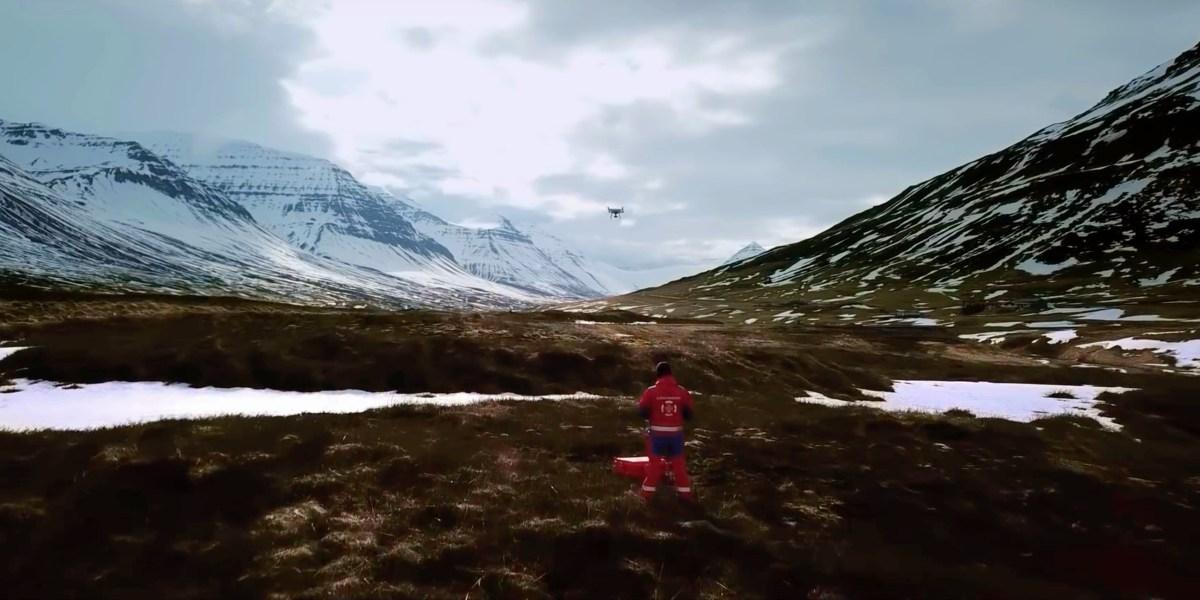 Press release: EENA awards heroic Icelandic drone rescue