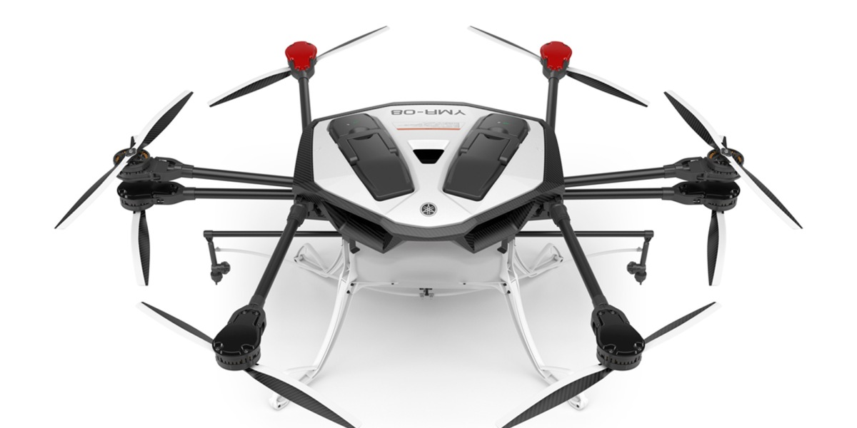 Yamaha Motor begins limited sales of the YMR-08 industrial drone