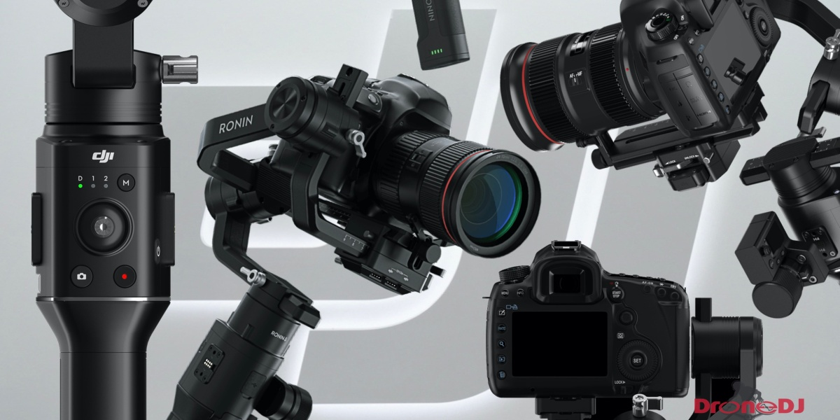 DJI Ronin S single-handed stabilizer - At $699, the price is right. Pre-order today!