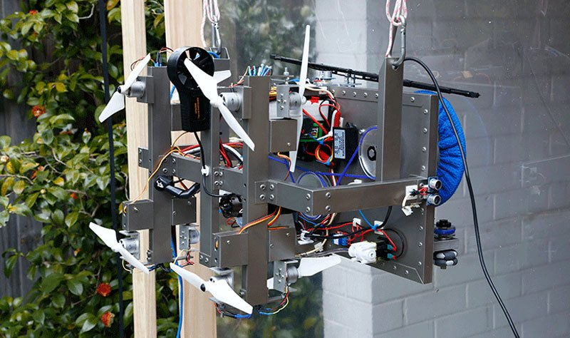 19-year-old student wins Intel's ISEF top prize with window cleaning drone