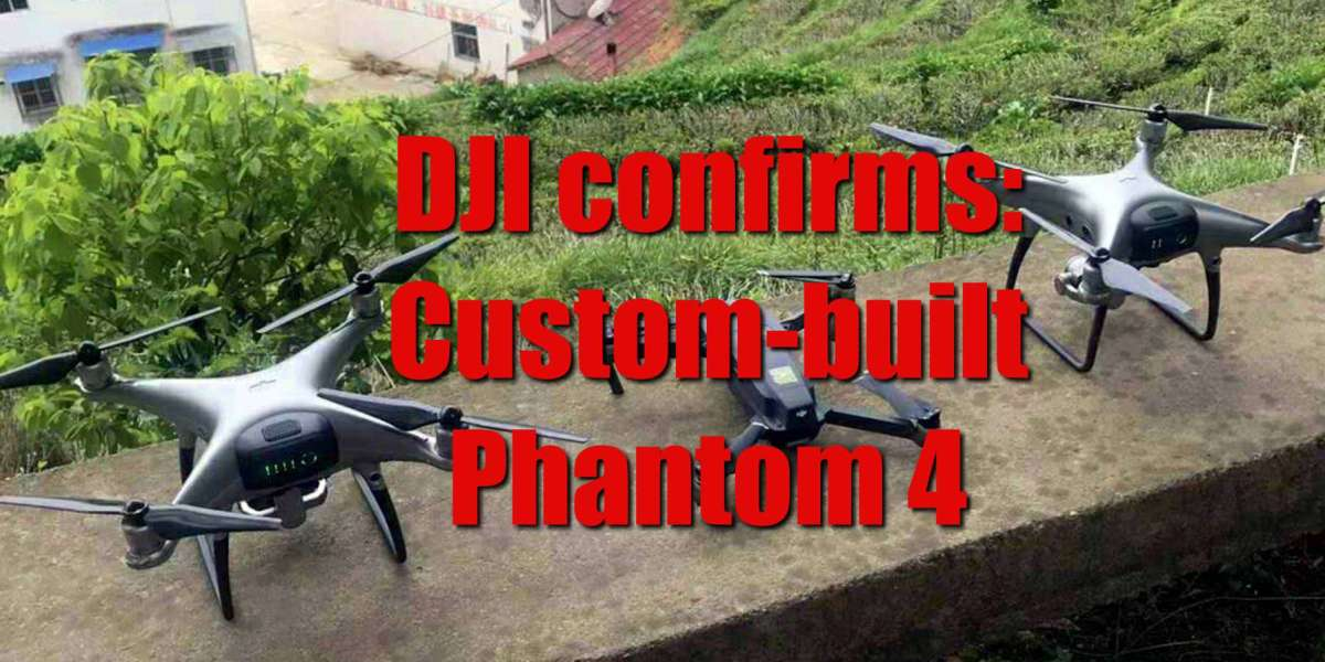 DJI confirms: these photos do not show a new Phantom 5 drone with an interchangeable lens system