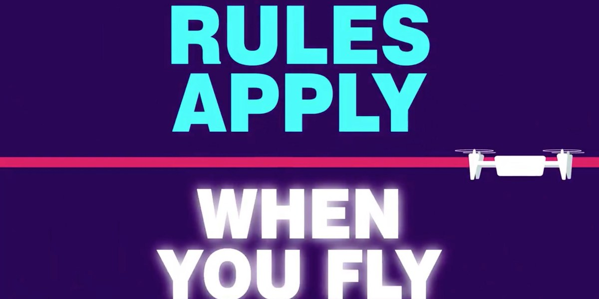 Australian aviation authority, CASA launches new campaign to increase awareness of rules for new drone pilots. Rules apply, when you fly!