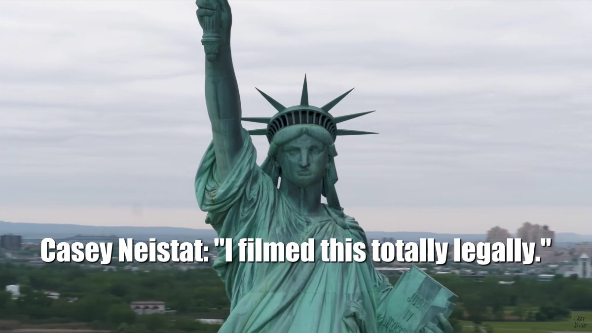 Casey Neistat's latest, amazing drone video of the Statue of Liberty in New York ignites discussion over FAA drone rules 2