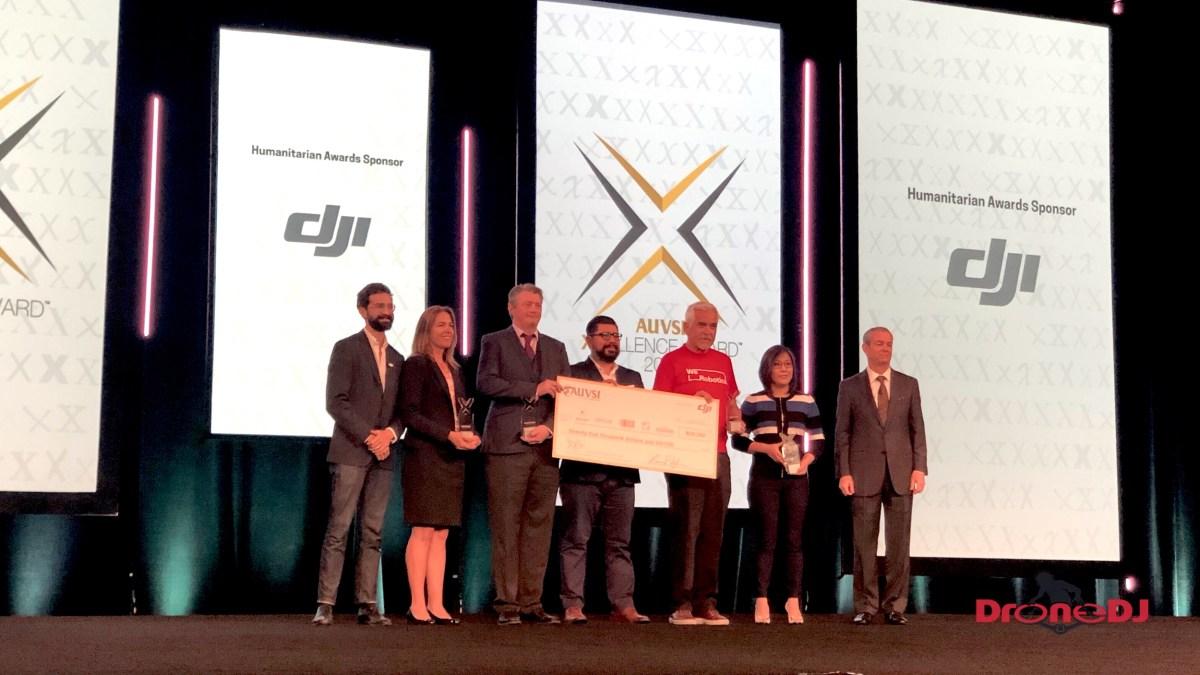DJI AUVSI Xcellence Humanitarian Awards