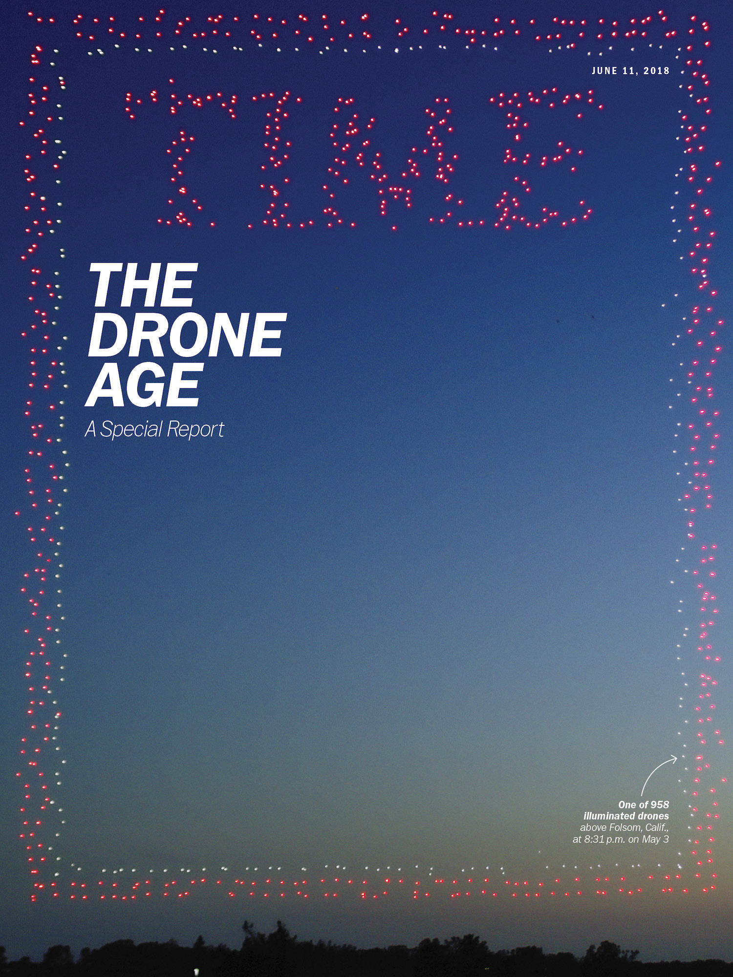 Check out this cover of TIME Magazine - The drone age is here!
