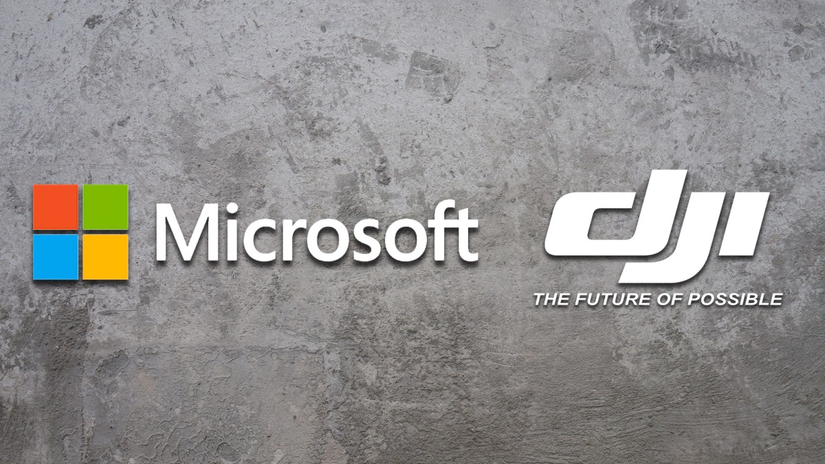 DJI and Microsoft are working together to create a new Windows 10 drone SDK