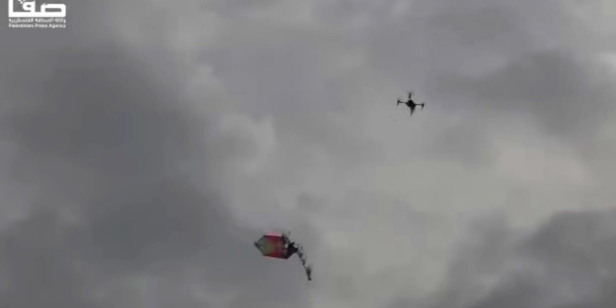 Israel uses amateur drone racers to take down 'kite bombs' from Gaza