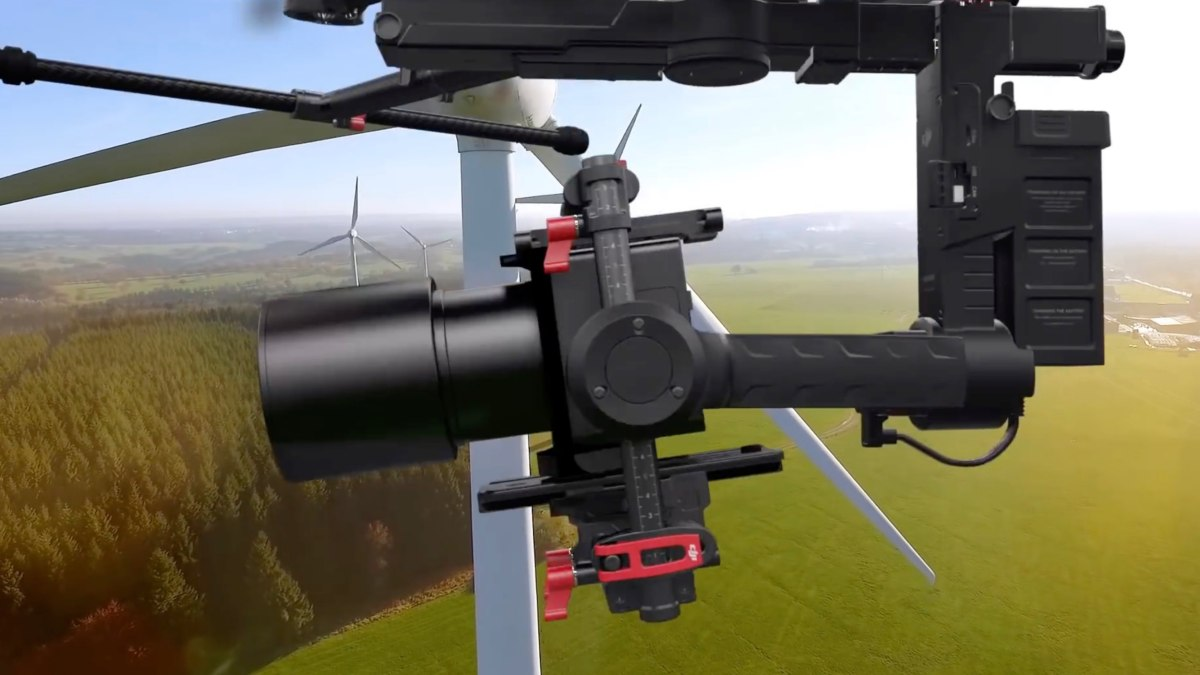 Medium format 100MP Sony BSI sensor inside Phase One's latest drone camera