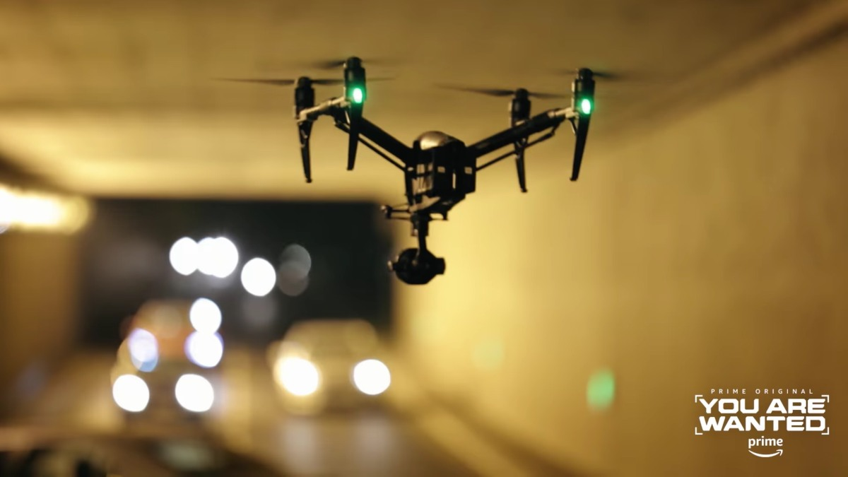 """How DJI's products are used in the shooting of the Amazon Prime Original series """"You Are Wanted"""""""