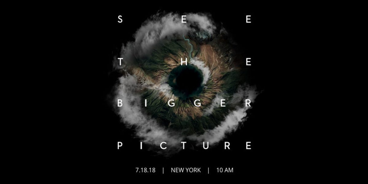 """DJI would like you to """"See The Bigger Picture"""" on July 18th - Possible Mavic Pro 2 announcement?"""