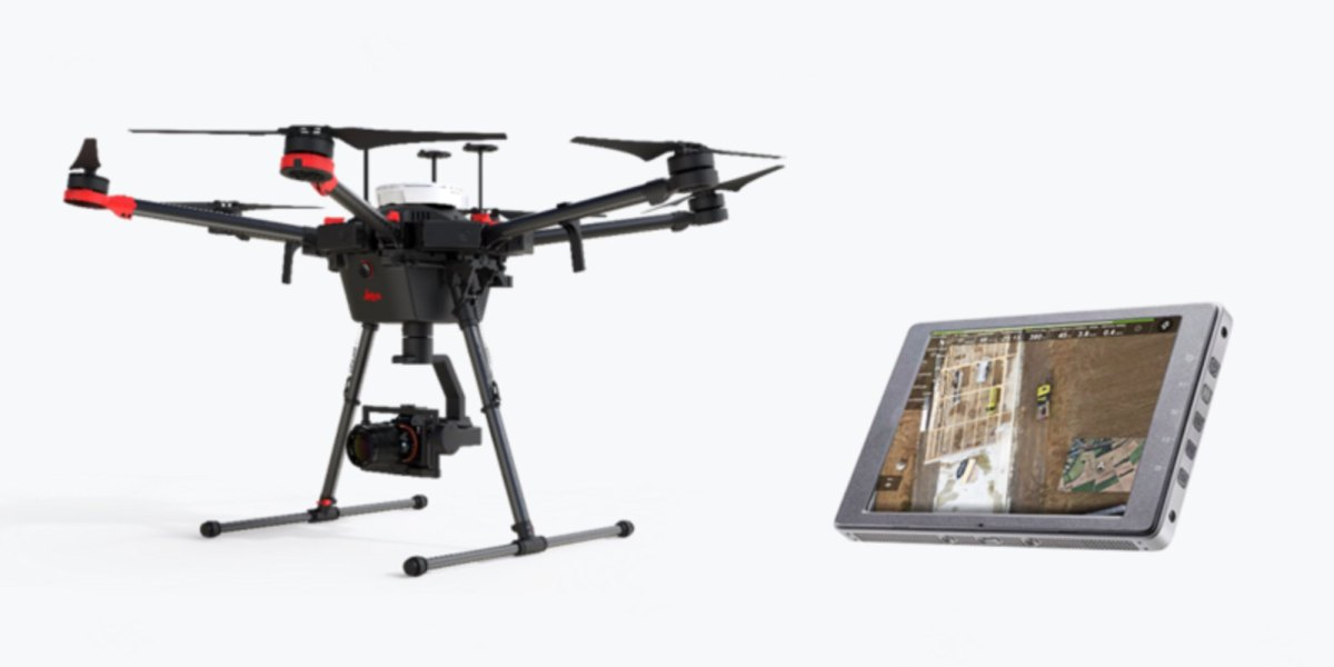 DJI Leica Aibot Leica Geosystems partnership