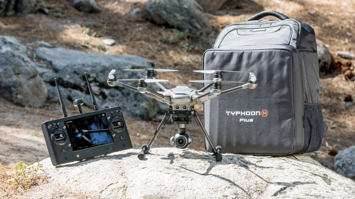 Yuneec introduces the Typhoon H Plus with Intel RealSense™ and other new and upgraded features
