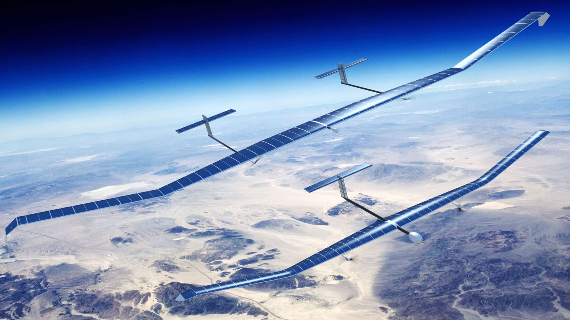 Airbus' Zephyr high altitude drone can fly for 14 days without landing