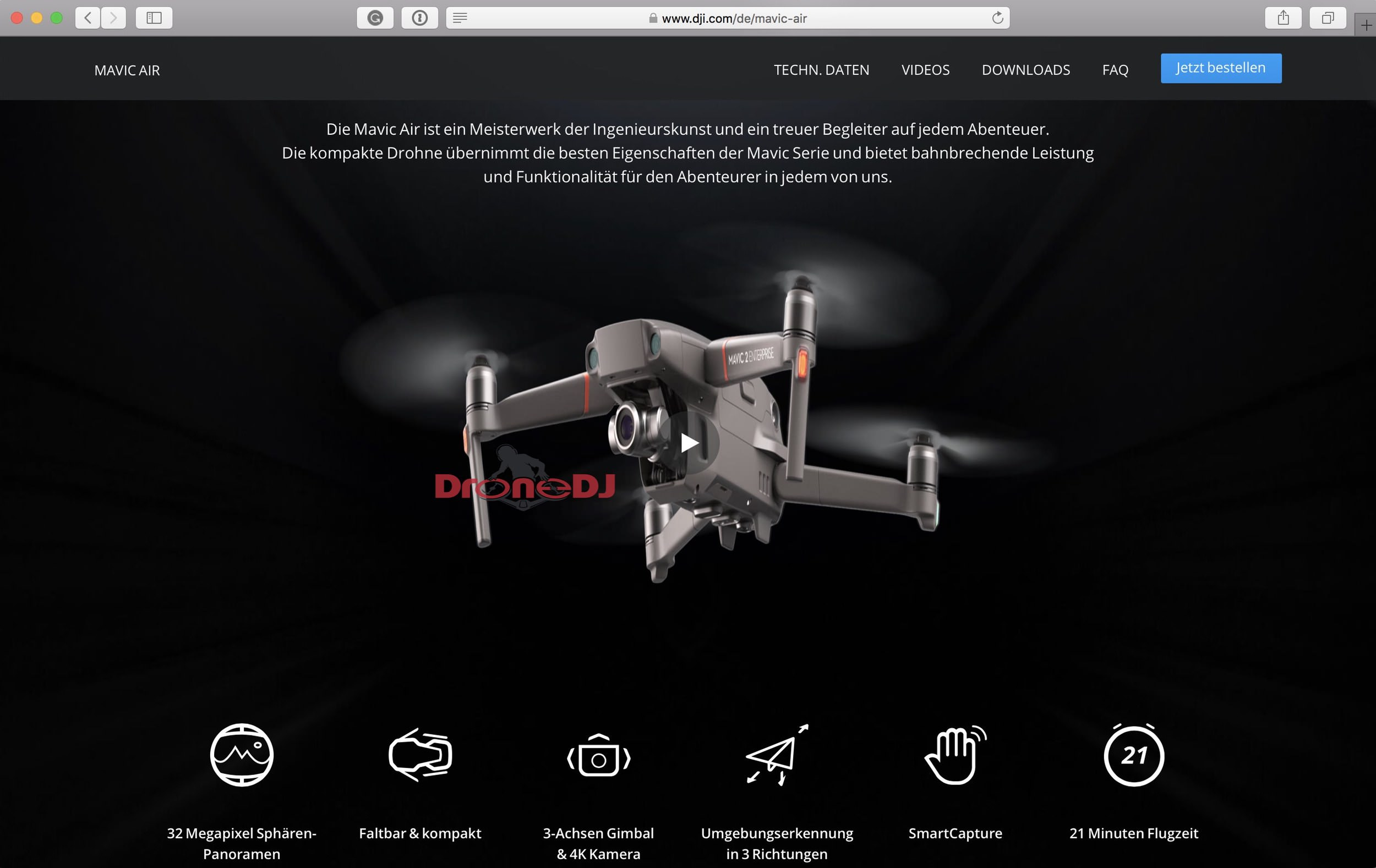 DJI Mavic 2 Enterprise Edition bottom view