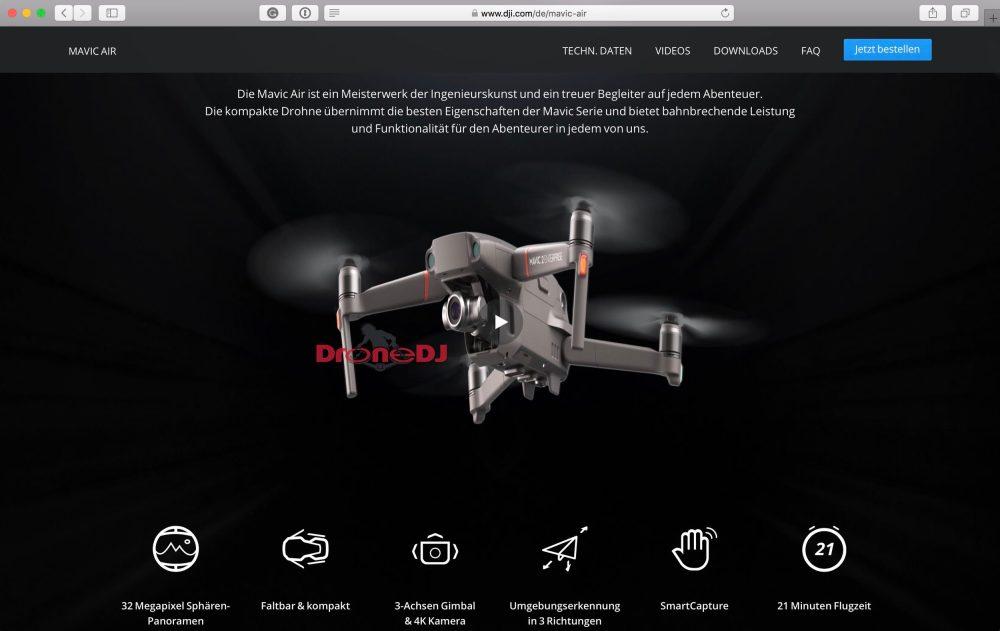 DJI Mavic 2 Enterprise Edition bottom view