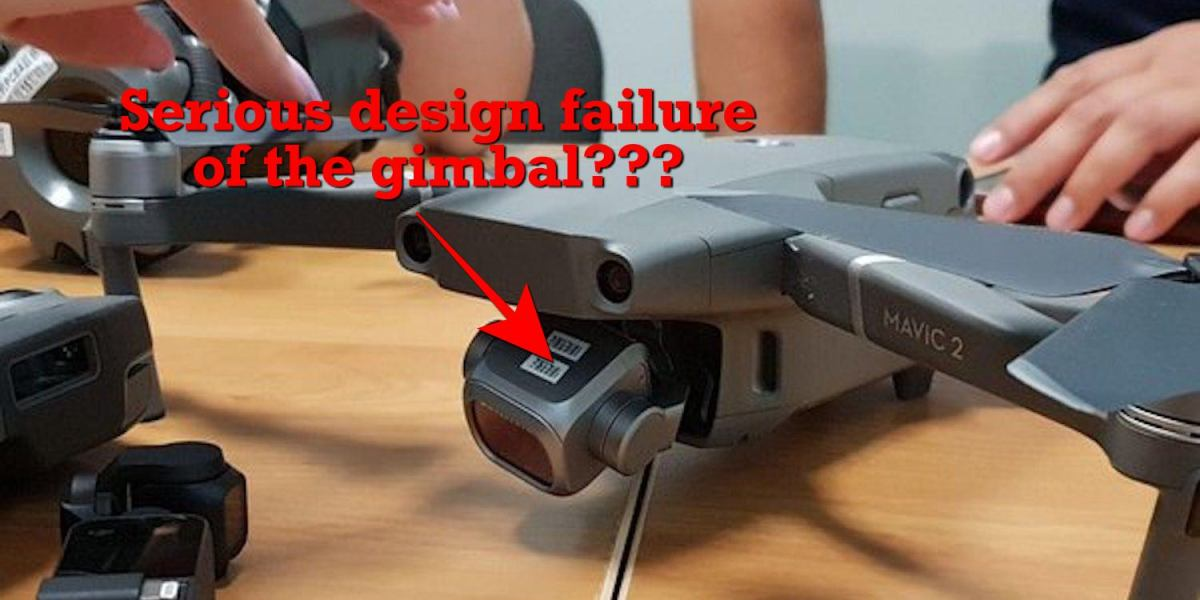 """Serious design failure of the Mavic 2's gimbal rumored to be reason for DJI's postponement of the """"See the Bigger Picture"""" event"""
