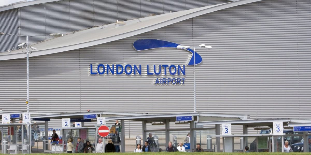 An Airbus 320 carrying 230 passengers came within 10ft of hitting a drone after taking off at Luton Airport