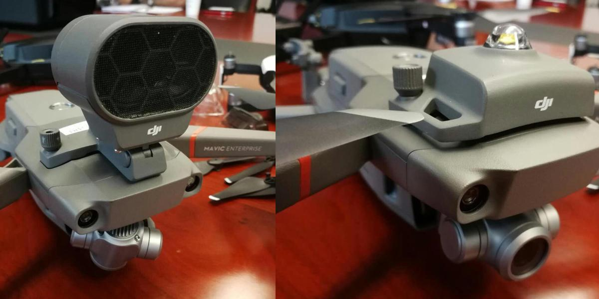 """New DJI Mavic 2 'Enterprise"""" edition photos show up providing us with more details of the new foldable drone"""