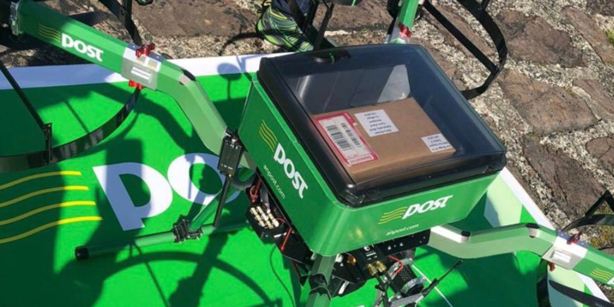 AN Post successfully completes first delivery of a package by drone in Ireland