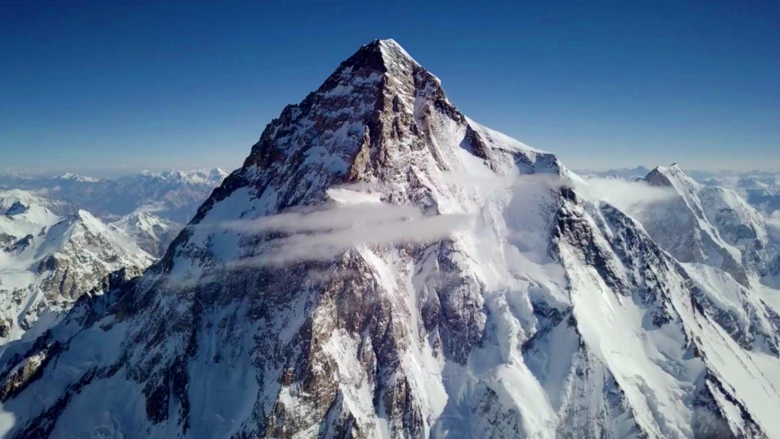 DJI Mavic Pro takes photo of K2 mountain at 8,400m or 27,600