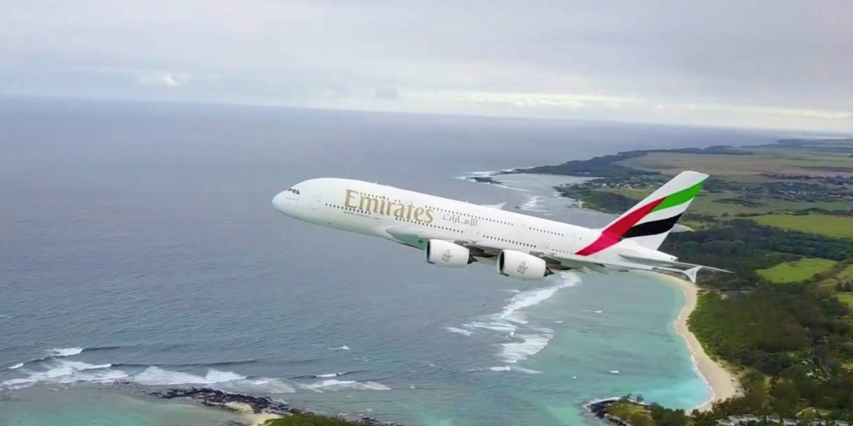 What on earth is this guy thinking flying his drone next to an A380 taking of from Mauritius