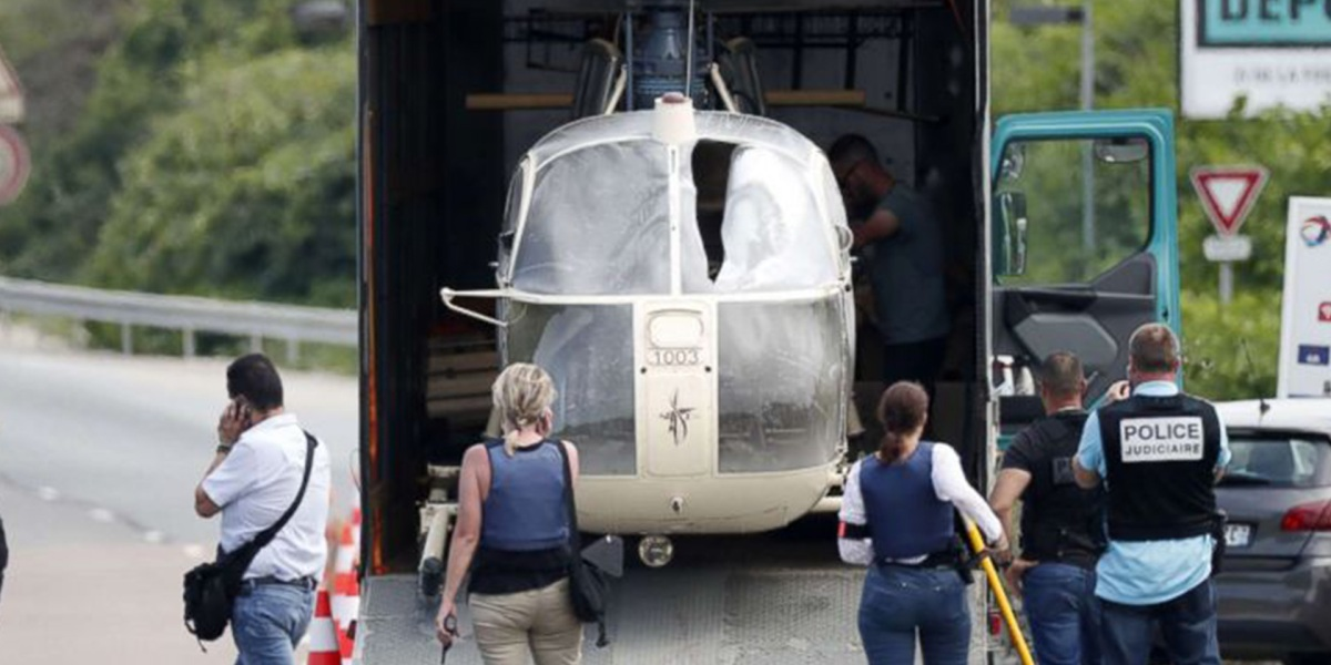 James Bond-style escape from French prison with helicopter likely aided by drones