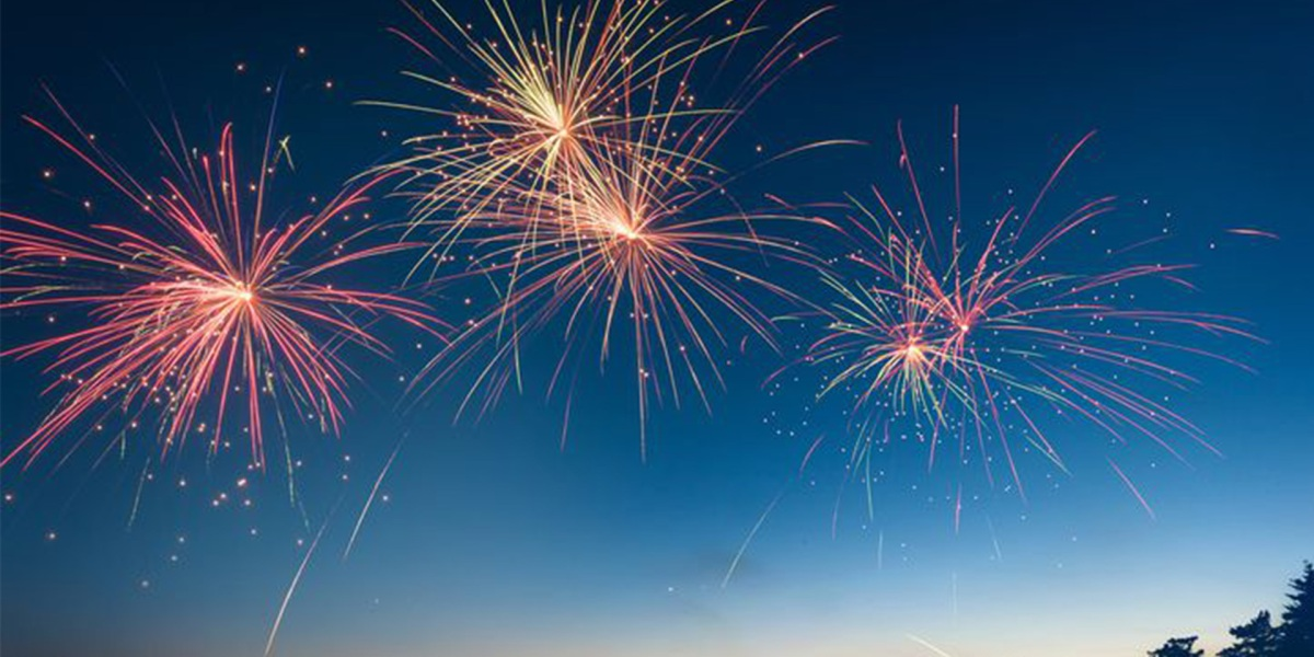 Keep your drone grounded around fireworks on the 4th of July