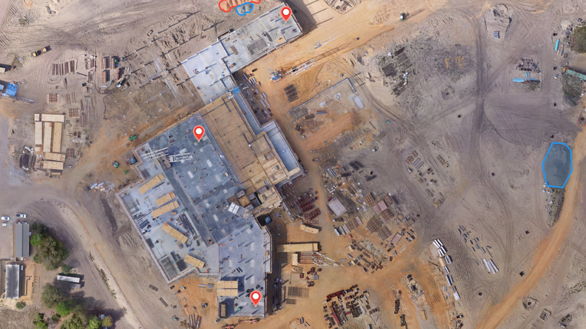 Drones are gathering crutial data on construction sites