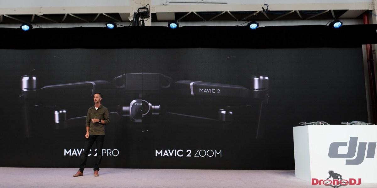 DJI introduces two new drones: the Mavic 2 Pro and Mavic 2 Zoom
