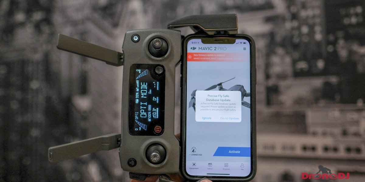 DJI issues new firmware update for the DJI Mavic 2 Zoom and Pro - v01.00.00.00