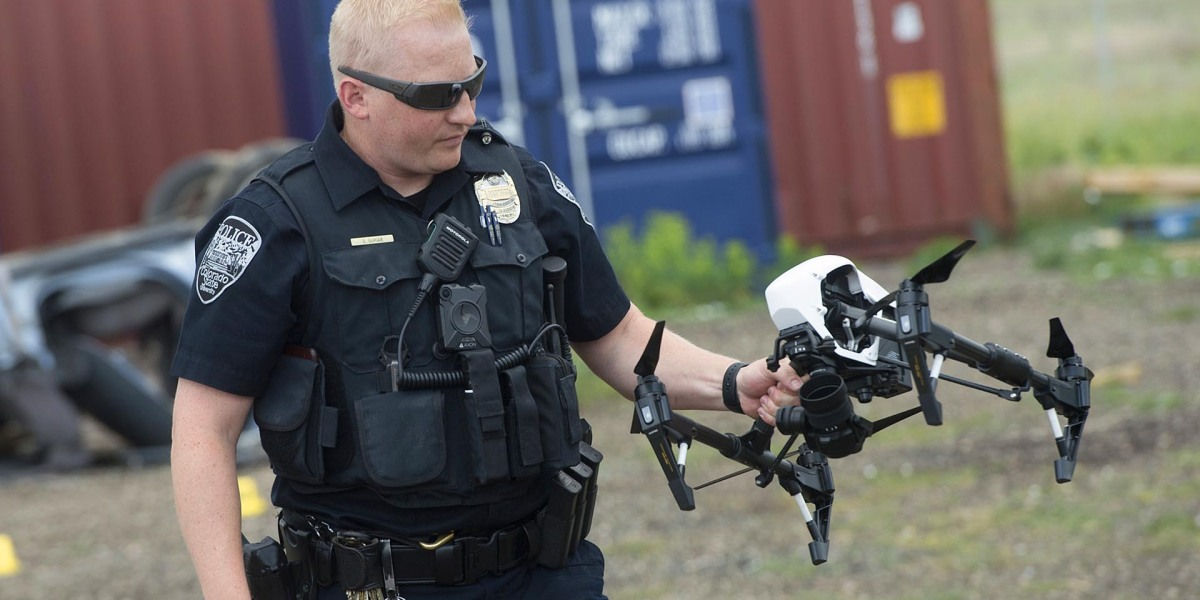 Drones are helping law enforcement investigate traffic accidents in a brand new way