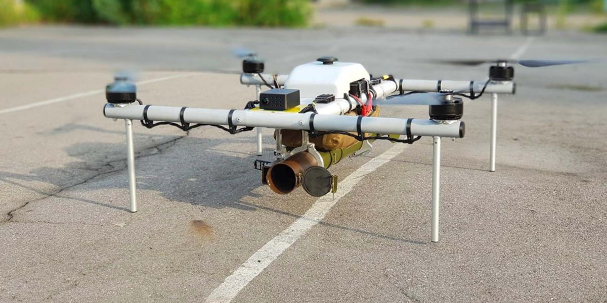 """This Ukrainian drone named """"Demon"""" can carry guns, explosives, and other weapons"""