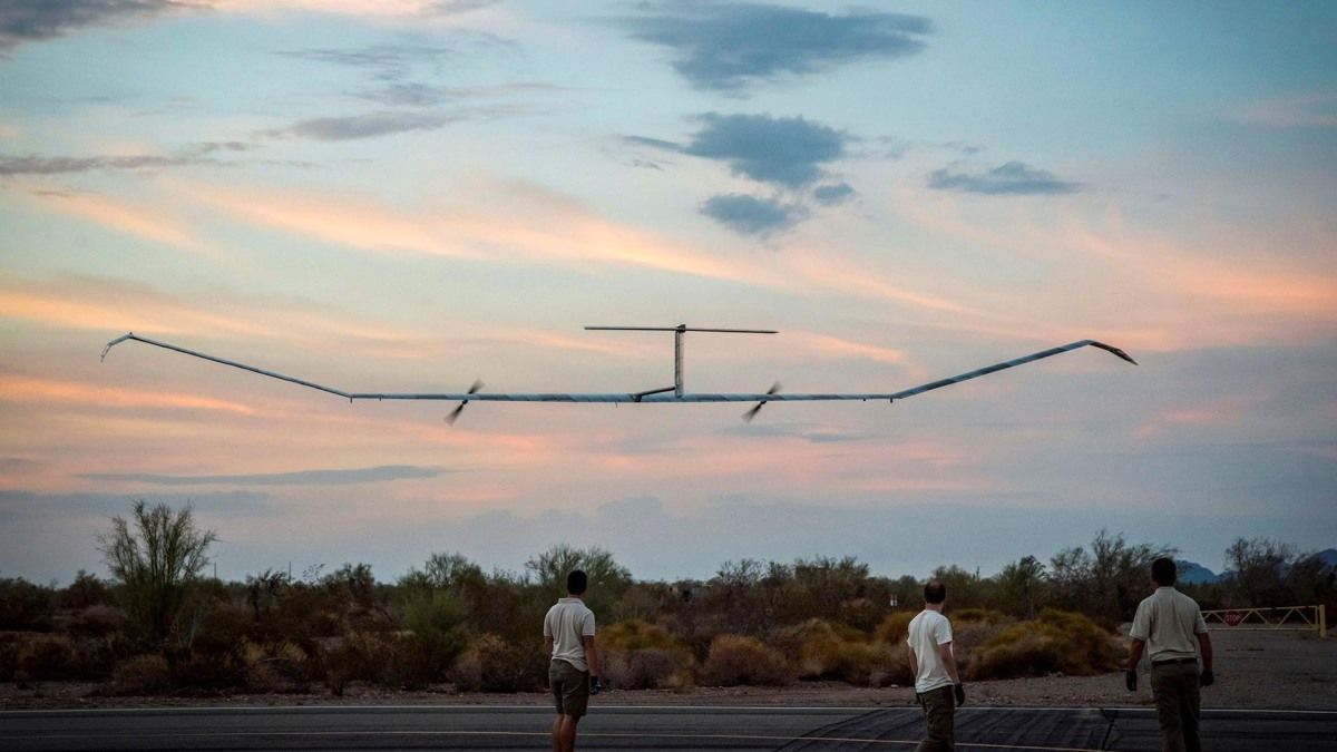 Airbus' Zephyr high altitude drone sets a new world record with 26 days of continuous flight