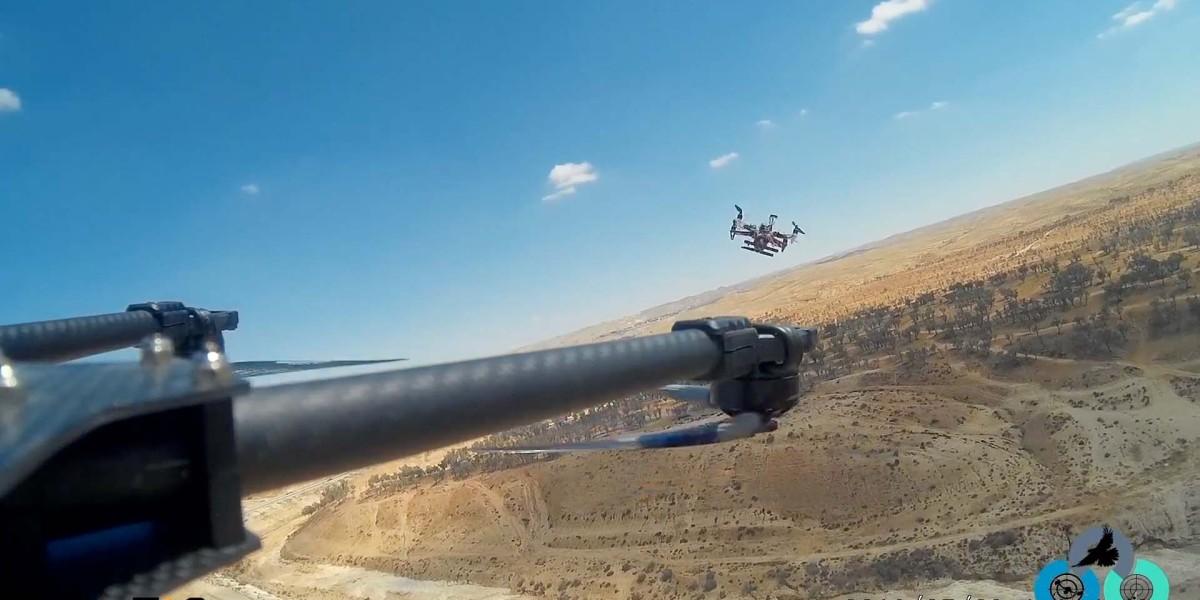 RoboTiCan's Goshawk drone takes down rogue drones in an unconventional way