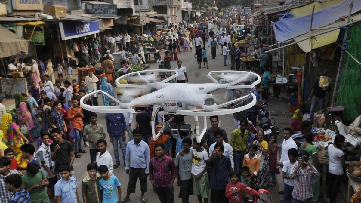 New drone laws hit India making flight more accessible to the public
