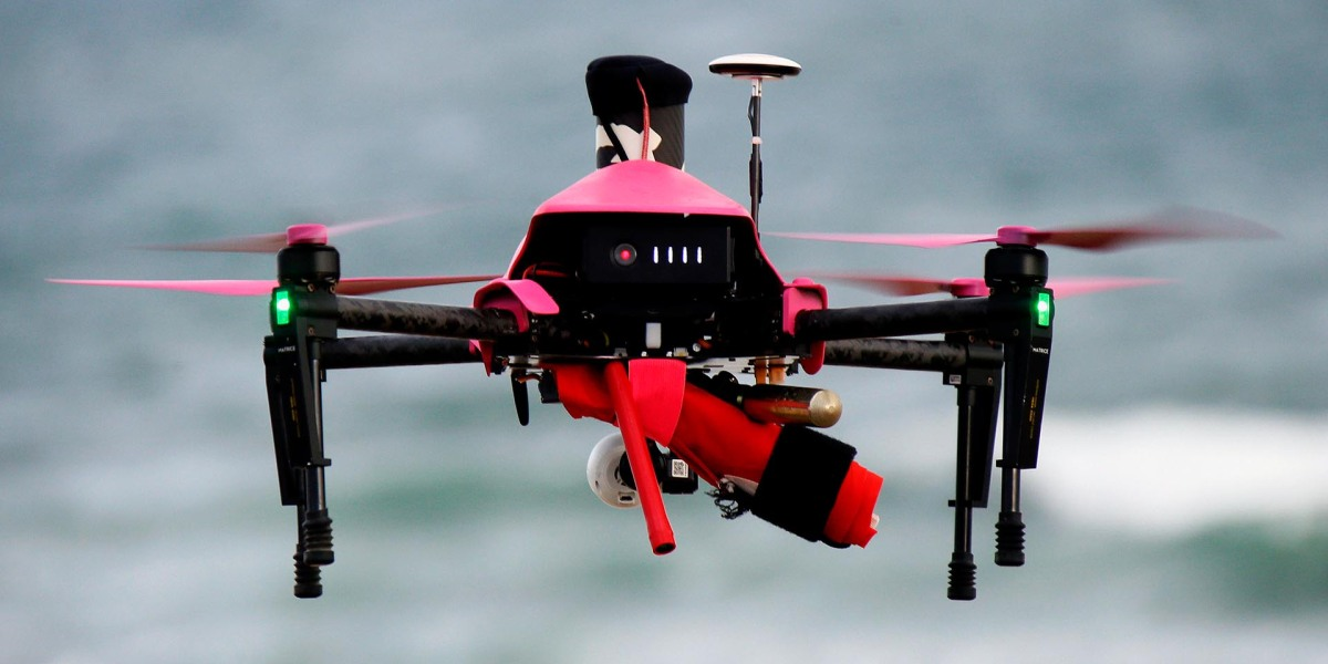 Drones are being tested to help lifeguards save lives