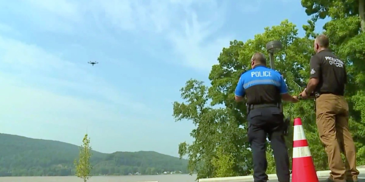 Drone helpt to fight crime and find missing persons in Dauphin County