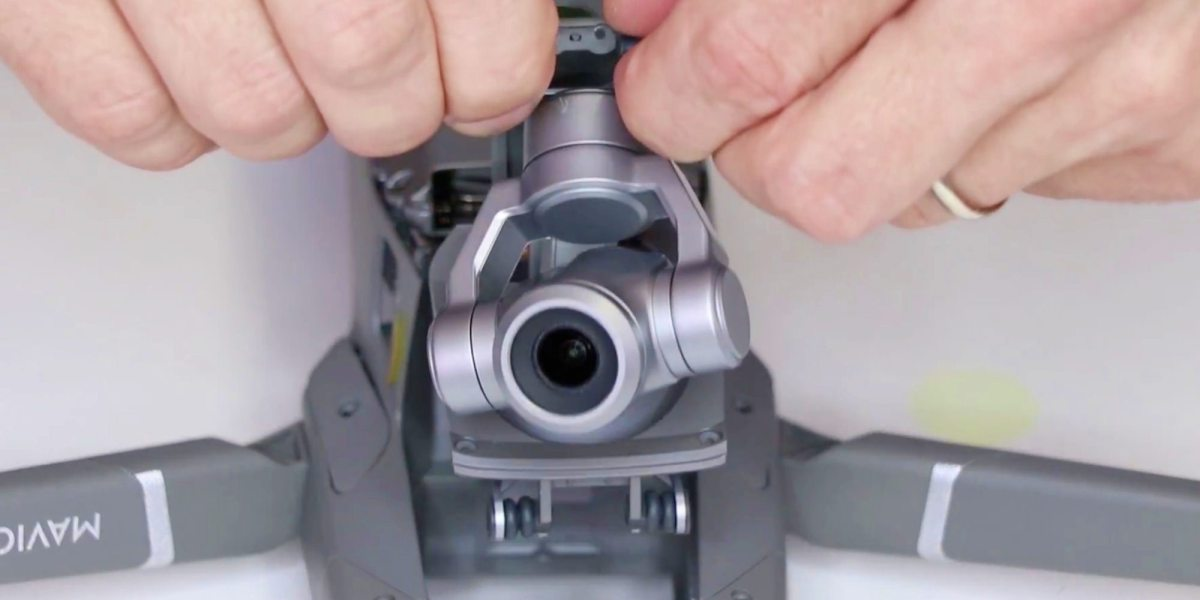 DIY - How to swap the camera on your DJI Mavic 2 drone yourself