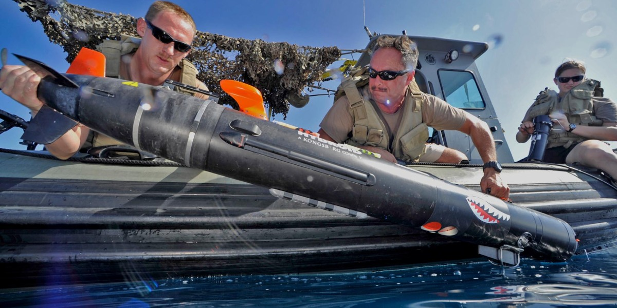 New Pentagon contract worth $800 million focuses on underwater drone technology