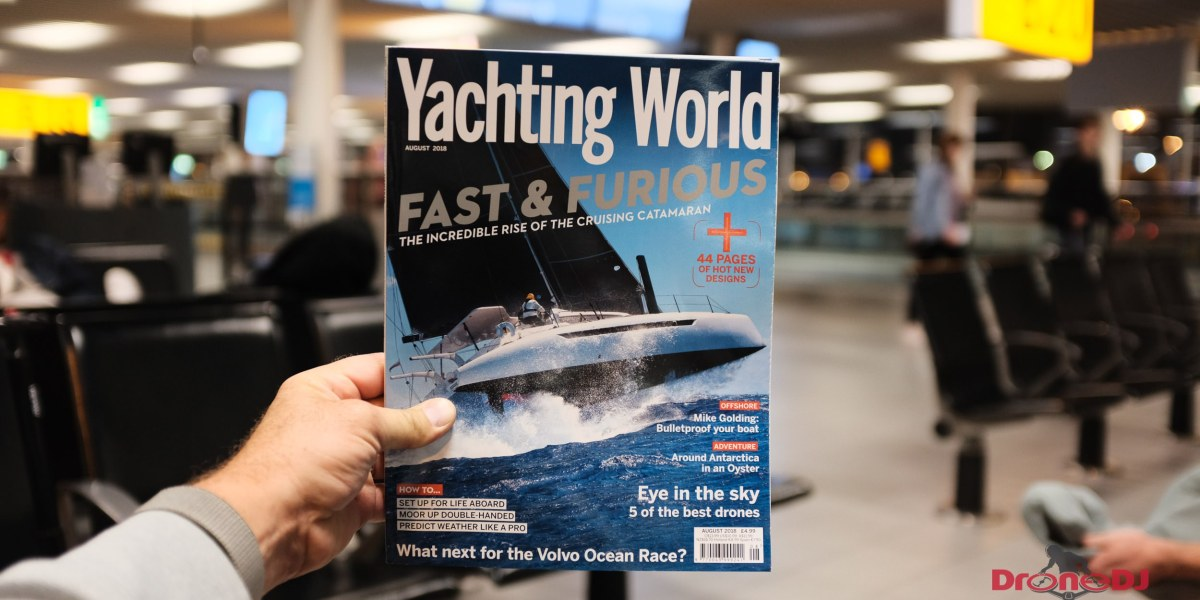 Yachting World recommends five of the best drones but leaves out the DJI Mavic Air and Parrot Anafi but includes the Karma. Really?