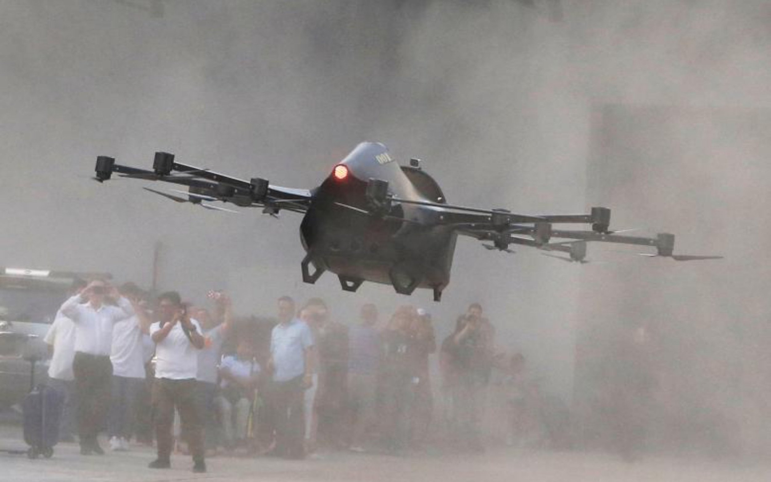 A passenger drone from Philippine inventor aims to cut
