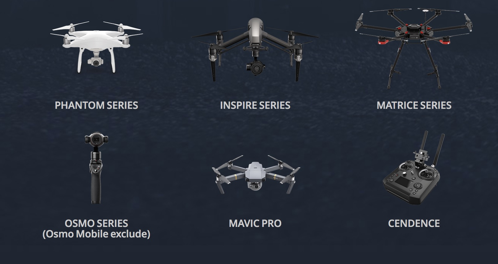 DJI CrystalSky is compatible with