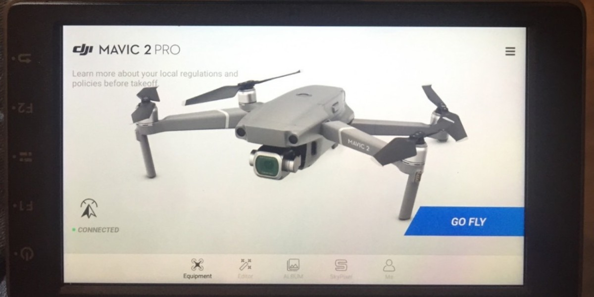 DJI CrystalSky works with the DJI Mavic 2 Pro and Zoom