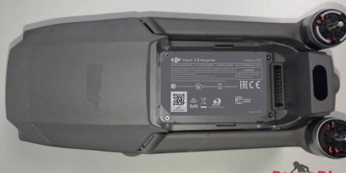 DJI Mavic 2 Enterprise confirmed in FCC filing. Launch at Airworks?