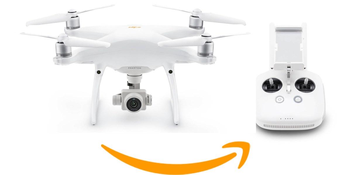 DJI discounts the Phantom 4 series on Amazon. Seemingly in anticipation of the Phantom 5
