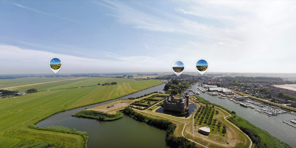 Drone project shows Dutch Water Line in 360-degree aerial photos